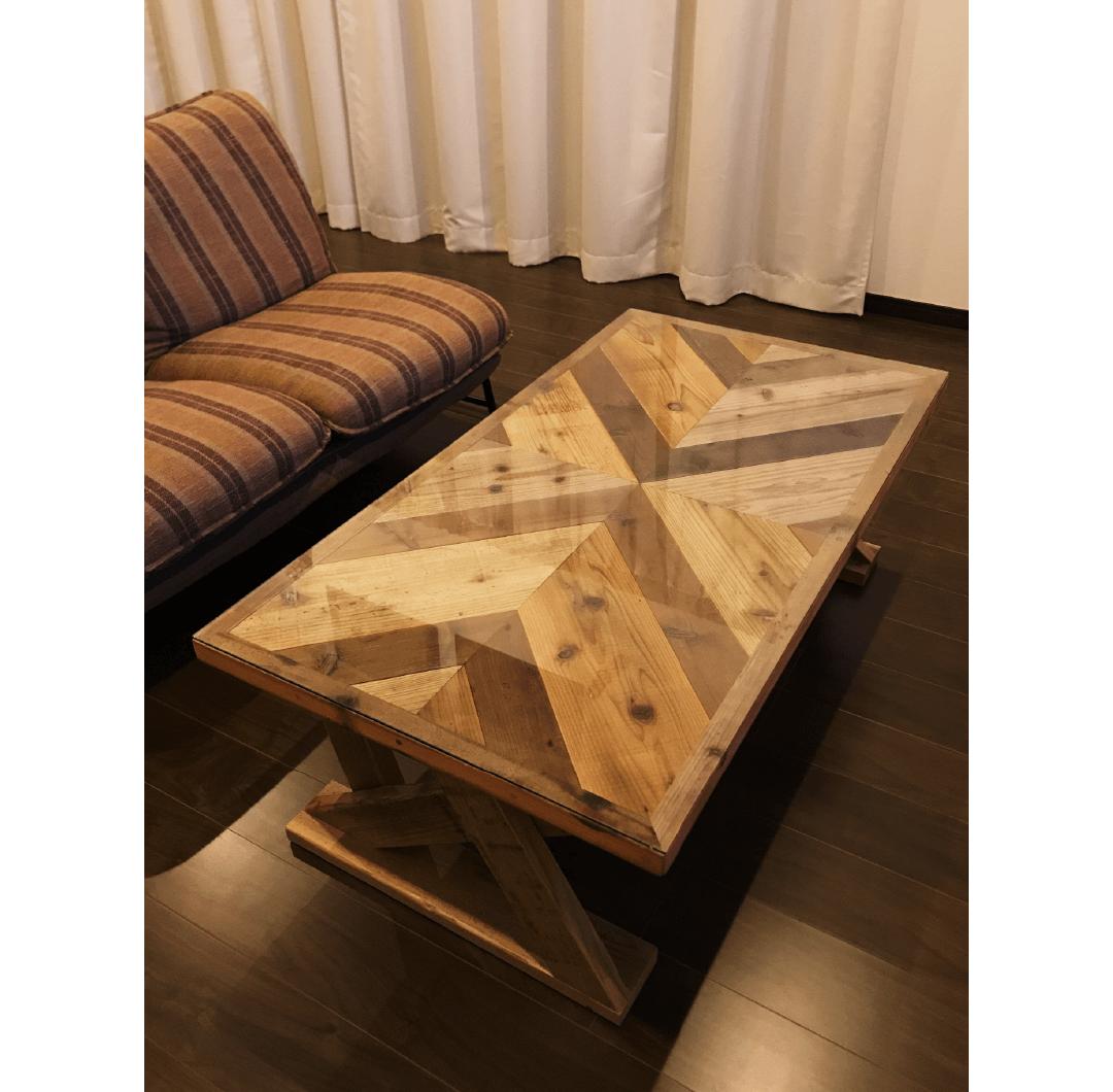 Old wood table|家具職人による完全ハンドメイドのインテリア・家具製作「BlueArch」(ブルーアーチ)
