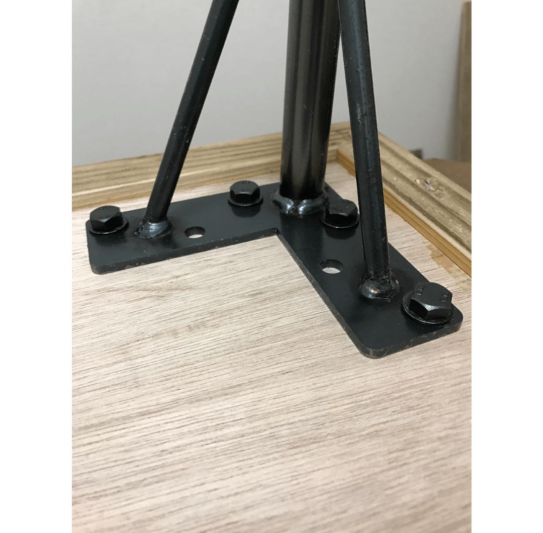 Cafe Old wood table|家具職人による完全ハンドメイドのインテリア・家具製作「BlueArch」(ブルーアーチ)