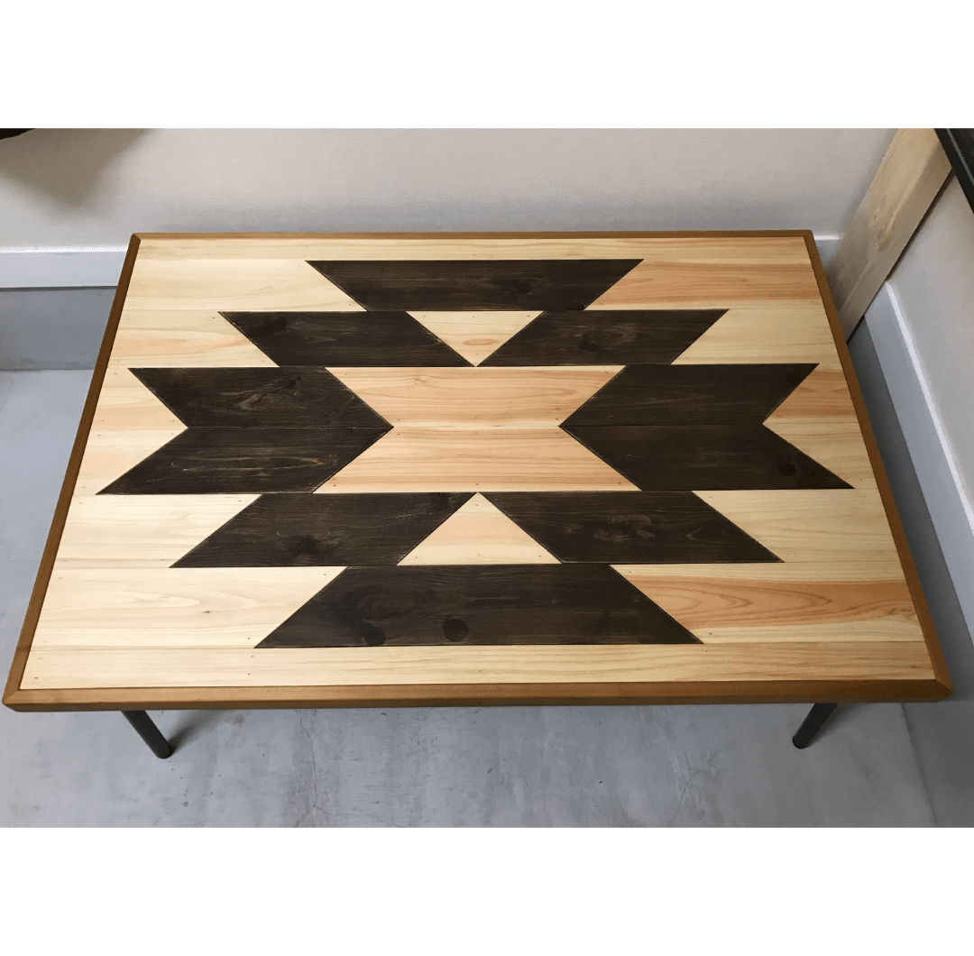 Ortega table|家具職人による完全ハンドメイドのインテリア・家具製作「BlueArch」(ブルーアーチ)